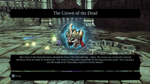 The Crown of the dead Talisman