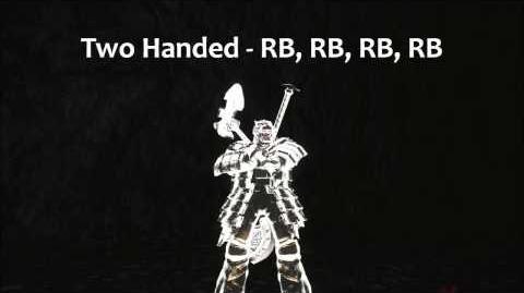 Dark Souls 2 Drakekeeper's Greataxe Tutorial (dual wielding w power stance)
