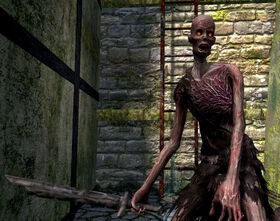 Zombie swordsman