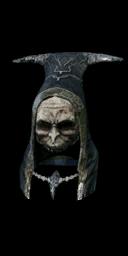 Black Hollow Mage Hood