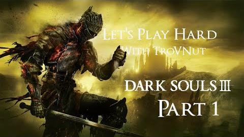 Dark Souls 3 BLIND - Let's Play Hard - Judged by Gundyr