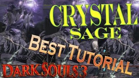 Dark Souls 3 - Crystal Sage Boss *BEST TUTORIAL* Easy Win