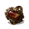 Flame Stoneplate Ring (DSIII)