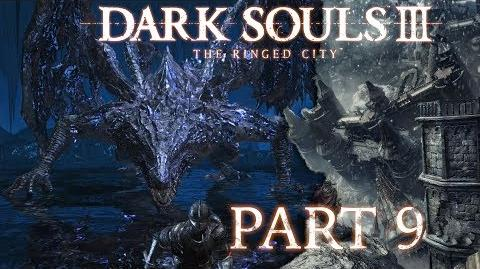 Dark Souls 3 The Ringed City NG BLIND - Part 9 - Darkeater Midir, The Abyss Dragon-1