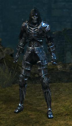 Dark set male