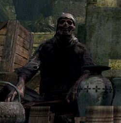 Undead male merchant