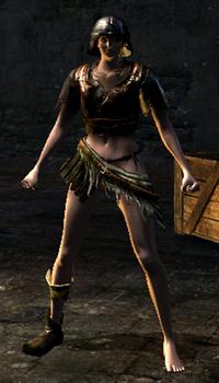 Hollow warrior set female
