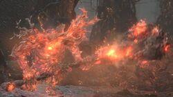 Flaming king (2)