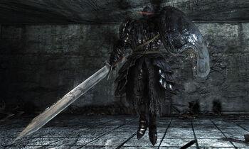 Dark Souls  Sotfs Moonlight Greatsword Build