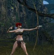 Wood bow