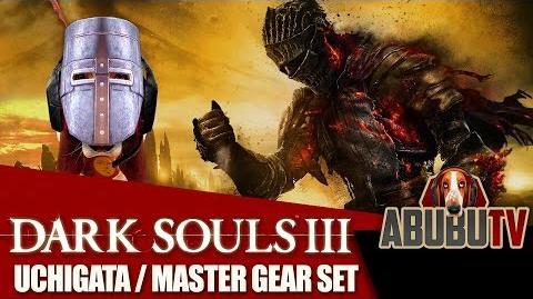 Dark Souls III Uchigatana Katana Master Gear Set-0