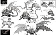 Gaping Dragon Concept Art