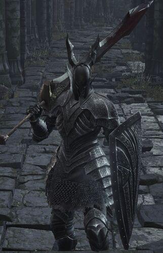 Dark Souls  Black Flame Forlorn Build