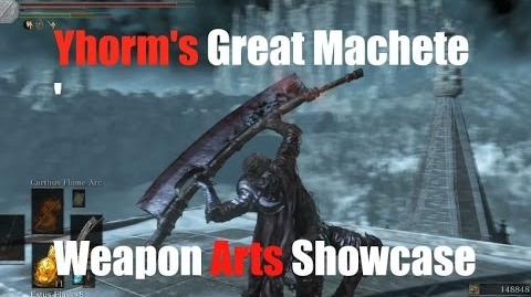 Dark Souls 3 Yhorm's Great Machete - Weapon Arts Showcase