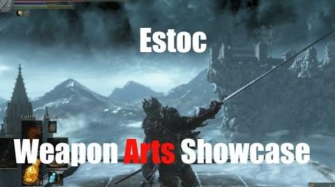 Dark Souls 3 Estoc - Weapon Arts Showcase