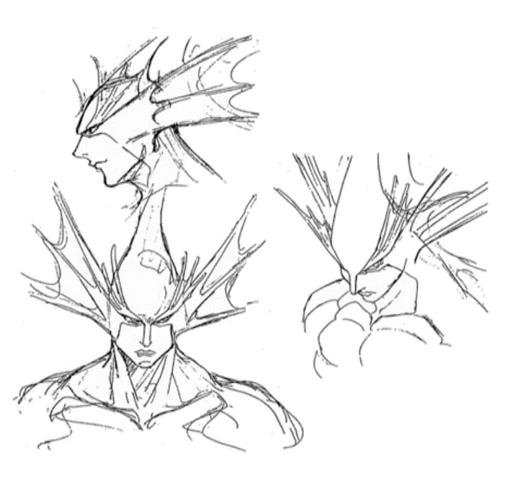 File:Night Warriors anime Rikuo sketch.png