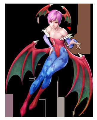 File:Darkstalkers Resurrection Lilith.png