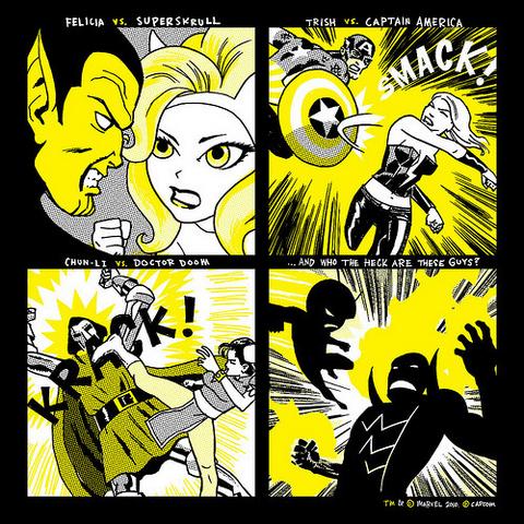 File:Marvel vs Capcom 3 Felicia Comic.png