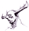 Darkstalkers Night Warriors Pyron Sketch