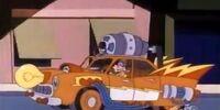 Megavolt's car
