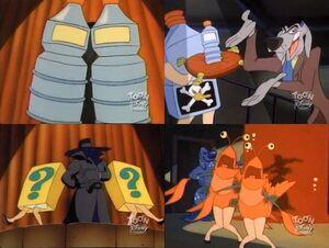 Dry Hard - mascot costumes