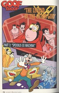 The Legend of the Chaos God - Goof Troop