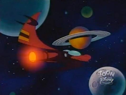 File:When Aliens Collide - Darkwing's spaceship.jpg