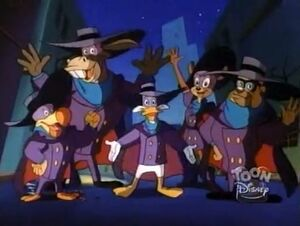 The Darkwing Squad - say hi to the fans