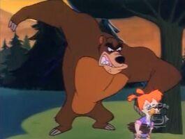 Bearskin Thug - robot bear