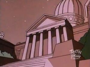 Negaduck - city hall