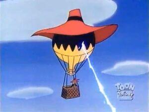 Jail Bird - Negaduck's balloon