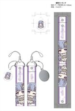Date A Live II cleaner with smartphone strap wide Miku