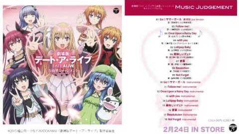 "Date A Live The Movie: Mayuri Judgment - Character Song Album ""Music Judgement"""