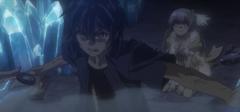 Shido saving Miku