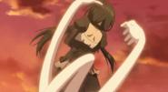 Clone Kurumi is captured