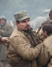 David Ayer wiki- Gordo in cahoots with the kid in Fury
