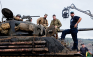David Ayer wiki- BTS of FURY with David Ayer and the cast