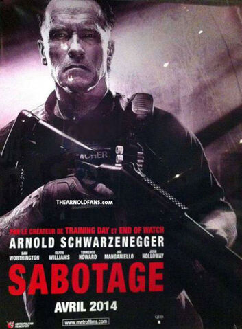 File:The Arnold Fans early poster for sabotage-2014.jpg