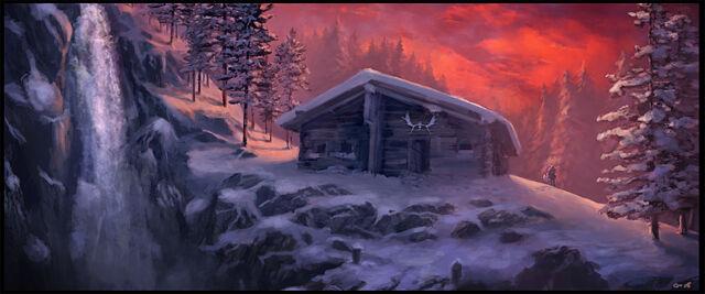 File:Winter Cabin by Gaius31duke.jpg