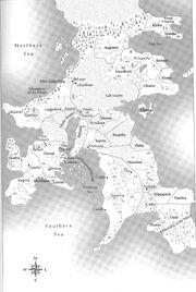 Drenai map