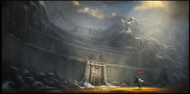 File:The Fortress of Dros Delnoch - Gerard Miley.jpg