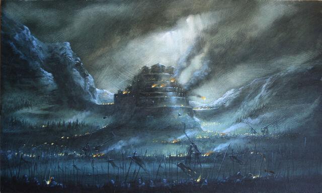 File:Dros Delnoch the Fortress - Didier Graffet.jpg