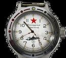 """Commanders watch """"Silver"""""""