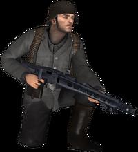 German MG42 Gunner DODS