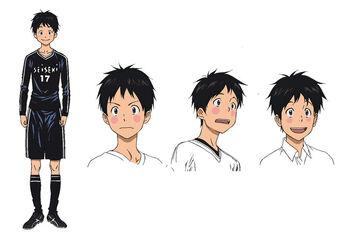 Tsuku character design