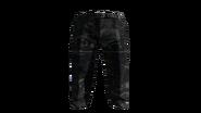 Black Slacks Pants Model (R)