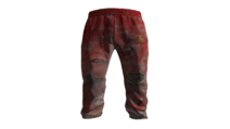 Red Tracksuit Pants Model (D-BD)