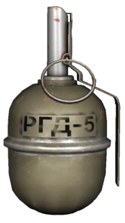 RDG-5 Explosive Grenade