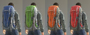Mountain backpack variants