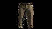 Beige Slacks Pants Model (P-W)